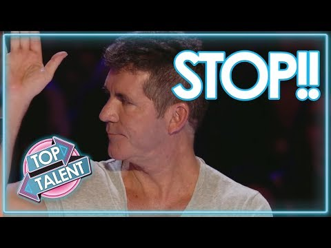 SIMON COWELL STOPS Auditions & Gives Them A 2nd Chance to Sing On GOT TALENT ! TOP TALENT