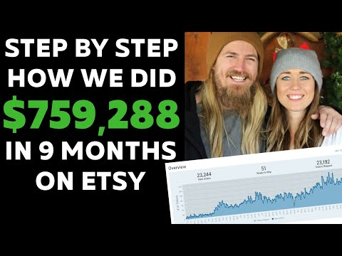 HOW TO SELL ON ETSY - NO ETSY ADS NEEDED | $759k IN 10 MONTHS 2020 - SELLING TIPS FOR SELLER