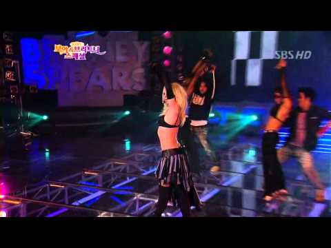 Britney Spears - Boys & I`m a slave for U (HQ,KOREA)