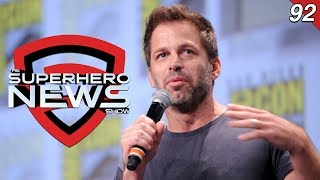 Superhero News #92: Zack Snyder steps away from Justice League