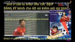 Trực tiếp bóng đá - U23 Việt Nam vs U23 iraq / VTV6
