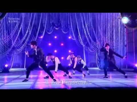 TVXQ  Spinning