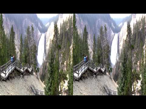 2012 Yellowstone Falls in 3D