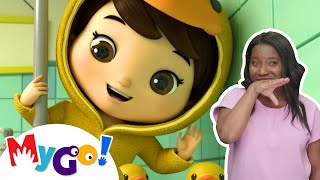 5 Little Ducks! | +More Baby Songs | ASL - American Sign Language | Little Baby Bum