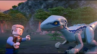 Mission: Rescue Blue the Dinosaur - LEGO Jurassic World - Mini Movie