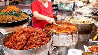 Street foods in the Korean tourist market