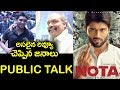 Public Response on NOTA  Movie
