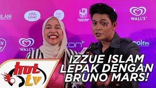 Izzue Islam lepak dengan Bruno Mars!