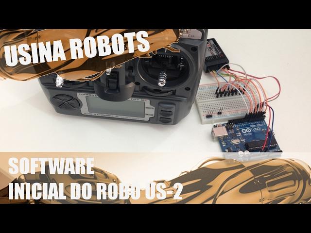 SOFTWARE PARA CONTROLE DA PONTE H | Usina Robots US-2 #013