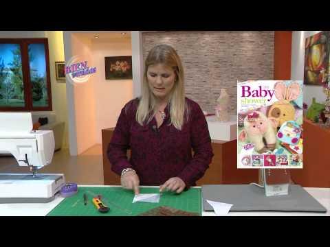 Carolina Rizzi - Bienvenidas en HD - Hace una manta de bebé con barquitos en patchwork.