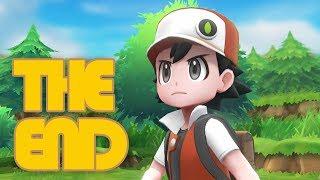 Let's Play Pokemon: Let's Go Pikachu & Eevee - The End - Pokemon Trainer Red
