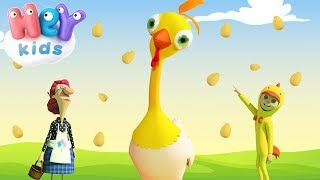 Spock-a Doodle, Chicken Noodle - Funny Songs For Kids - HeyKids - YouTube