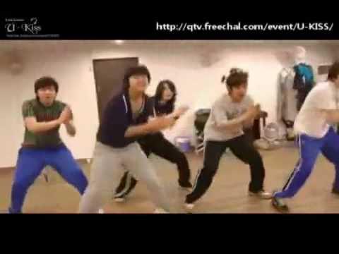 U-kiss dancing Sorry sorry - SUPER JUNIOR