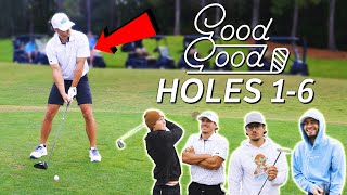 Good Good Enters 4 Man Scramble Tournament Again! - Part 1/3
