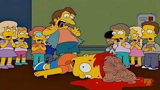 Cartoon Tv Series - Bart was down