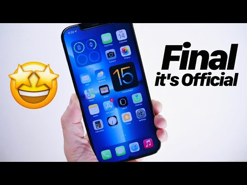 iOS 15 Final Version Release Date it's OFFICIAL