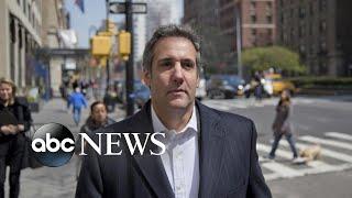 Michael Cohen's secret recording of conversation with Trump