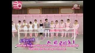[Eng Sub] 03.30.08 SNSD Hi 5 EP47 Ballerinas