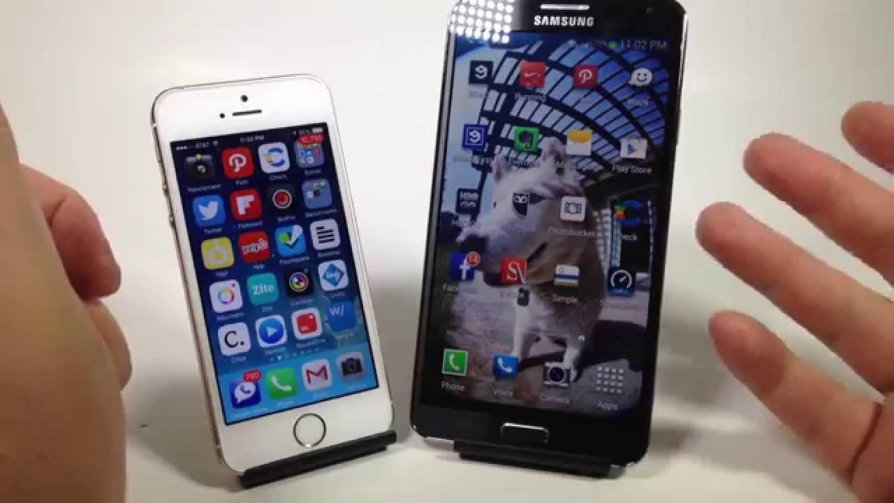 Iphone 5s Beter Dan Samsung S5