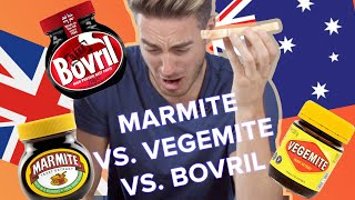 Marmite Vs. Vegemite Vs. Bovril