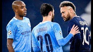 Neymar y el psg son eliminados por el manchester city.