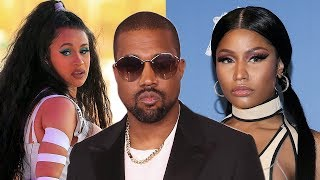Kanye West STEPS IN To END Cardi B & Nicki Minaj Feud!