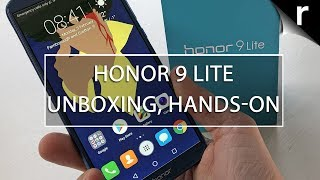 Honor 9 Lite Unboxing, Setup & Hands-on Review