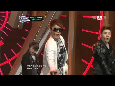 Super Junior-M(슈퍼주니어M)_Break Down 130131 Mcountdown