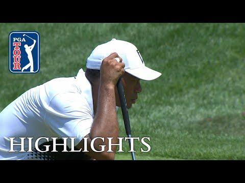 Tiger Woods' Highlights   Round 3   Quicken Loans 2018