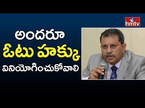 SEC Nimmagadda Ramesh requests voters to exercise their franchise in Municipal polls