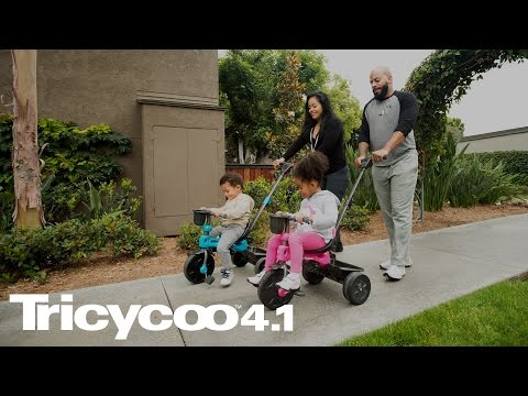 Introduce balance and coordination one stage at a time with the Joovy Tricycoo 4.1.