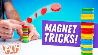 Amazing Magnet Trick Shots! (Magination)