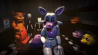 Toy Chica and Mangle Stomach Growling - Hungry Girl's