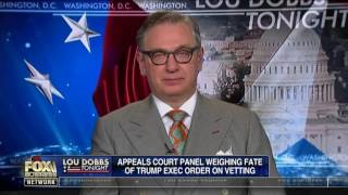 Guest on Lou Dobbs Tonight - Fox Business Network - Discussing Immigration Executive Order