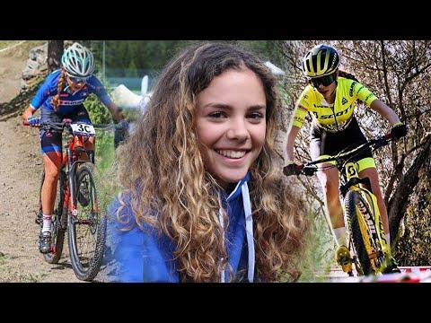 """Giulia Challancin a """"cicliste in streaming"""""""