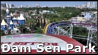 Đầm Sen Amusement Park (Roller Coaster ride) Ho Chi Minh City, Vietnam