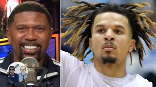 Jalen Rose reacts to Cole Anthony's 34-point UNC debut | Jalen and Jacoby