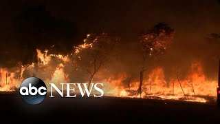 Battle against massive wildfires in California rages on   ABC News