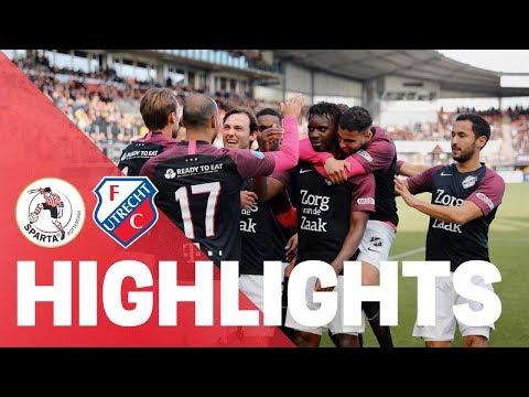 HIGHLIGHTS   Sparta Rotterdam - FC Utrecht