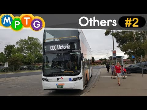 Riding on a Double Deck Optimus bus from Werribee to Wyndham Vale (Others #2)