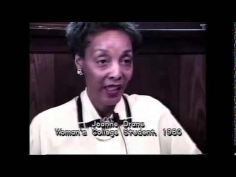 This video, produced in 1990, recounts WC student participation in the 1960 Sit Ins through interviews with former students, voice-overs, local tv footage, photographs, and reenactments of the events.