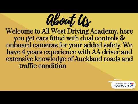 Driving Lessons in West Auckland