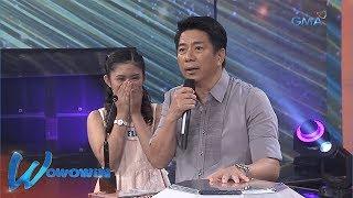 Wowowin: Ama ng isang contestant, bakit nagpapaalam on air?