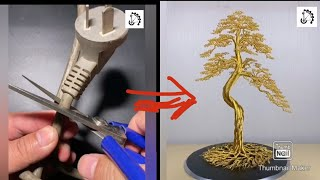 Making wire tree - fast & easy way | Diy wire tree