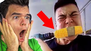 REACTING To The FASTEST EATERS In The WORLD!