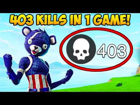 403 KILLS IN 1 GAME *NEW WORLD RECORD* - Fortnite Funny Fails and WTF Moments! #249 (Daily Moments)