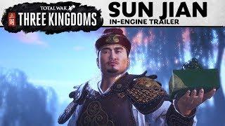 Total War: THREE KINGDOMS - Sun Jian In-Engine Trailer