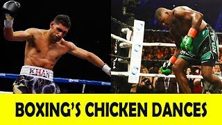 "20 EPIC ""CHICKEN DANCES"" IN BOXING 2018"
