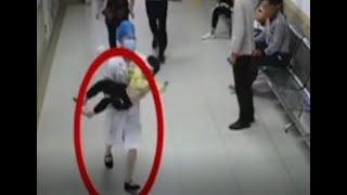 Doctor's quick running saves child's life | CCTV English