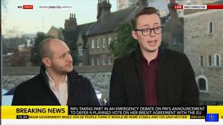 Brexit fallout: Ian Dunt teaches a Spiked Brextremist what no deal means